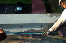 塗膜防水を施工
